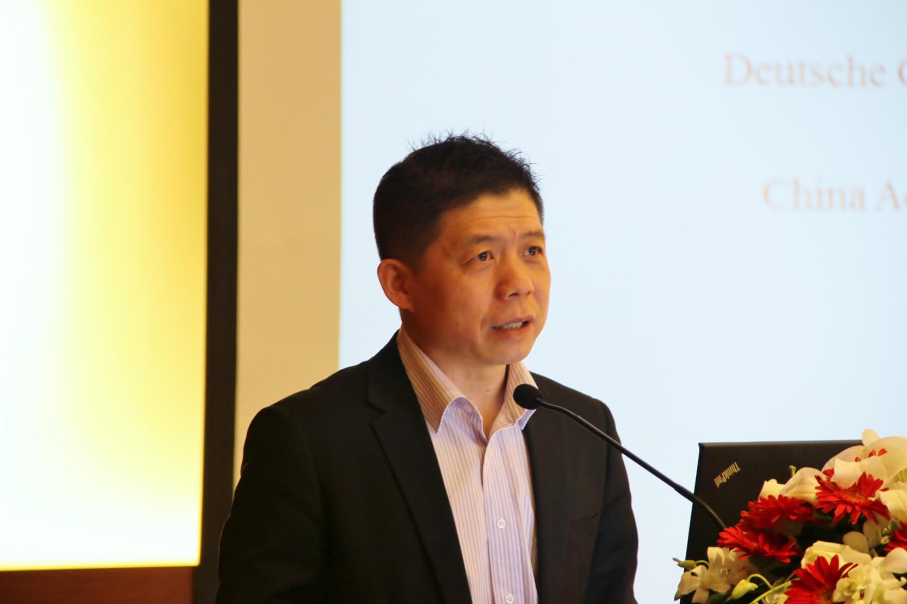 Dr. Ma Xiangshan, Director of Environmental Protection Division, Institute of Aviation Development, CAST