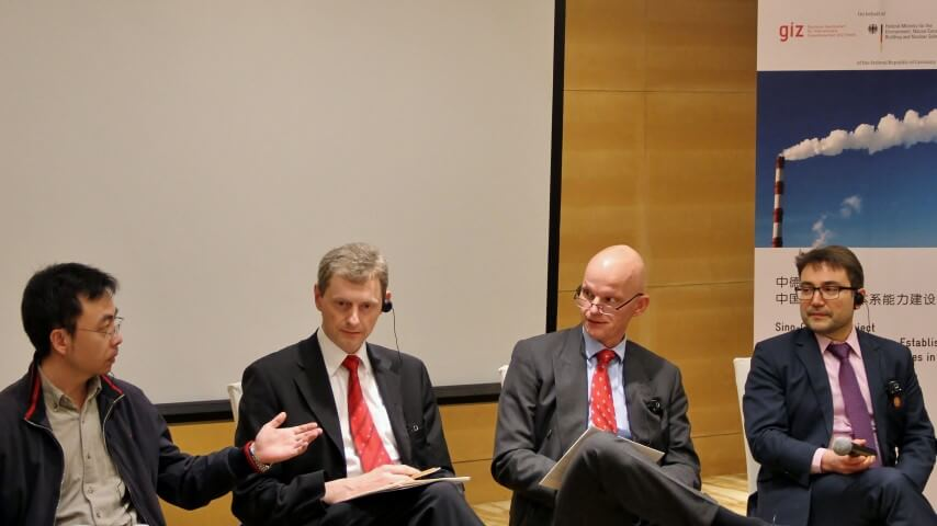 Roundtable Session with Experts: Dr. Chen Liang, Dr. Olaf Hölzer-Schopohl, Dr. Arthur Pelchen, Mr. Christian Mietz (L to R)